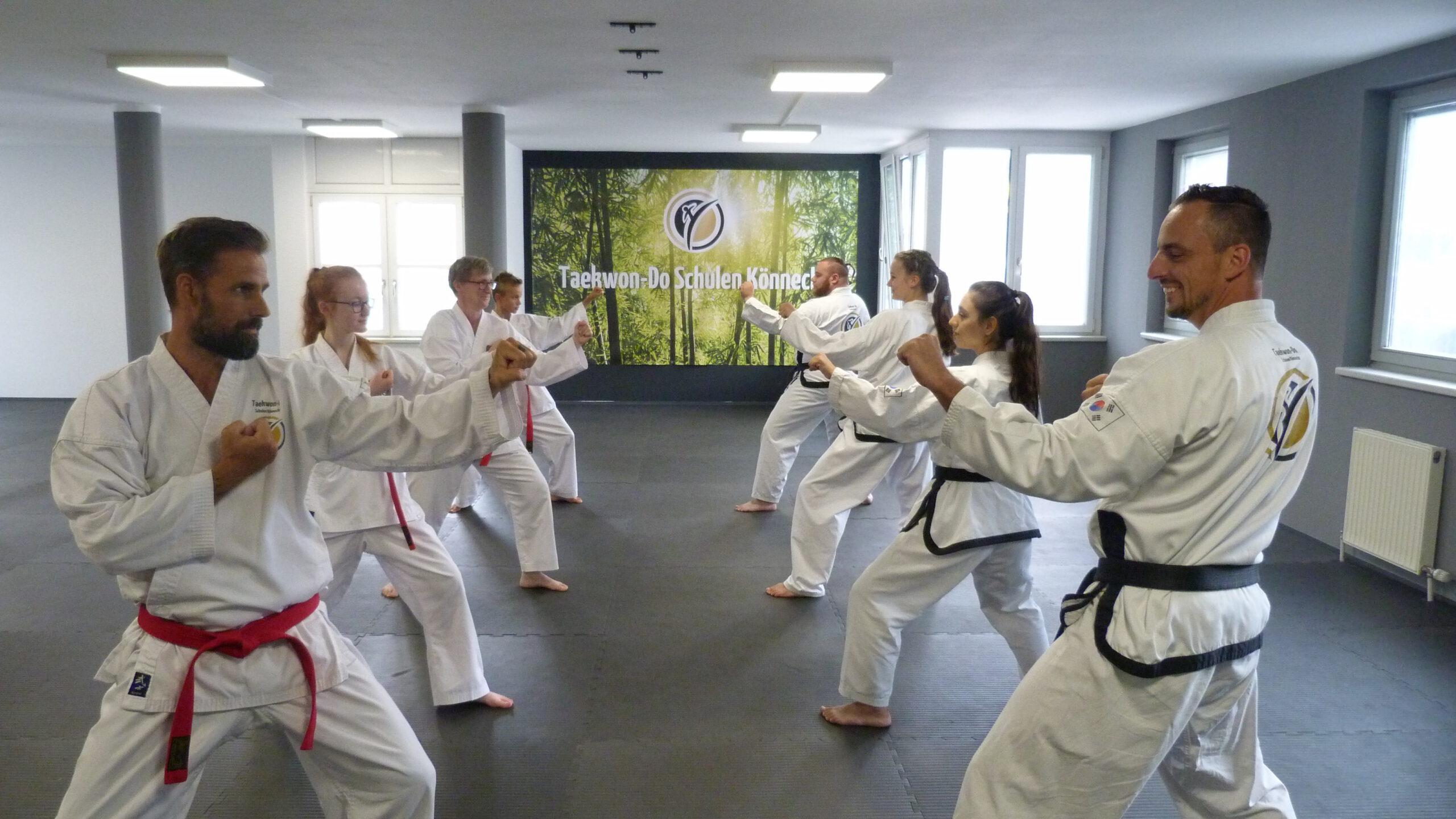 Taekwon-Do Schulen Könnecke auch in den Sommerferien geöffnet